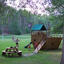 Huge Playground and a Pirate Ship for Adventure